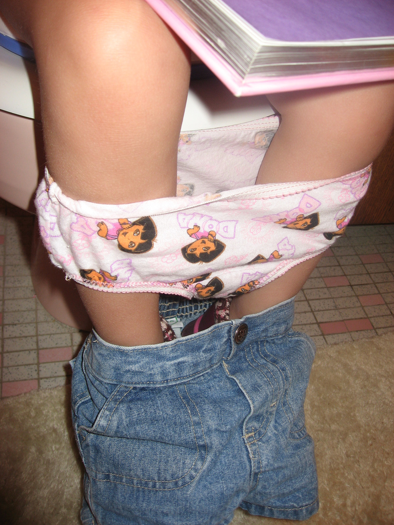 Toilet training without diapers yeast