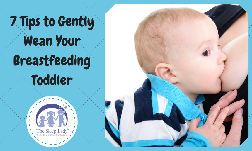 7 Tips to Take Gently Wean Your Breastfeeding Toddler