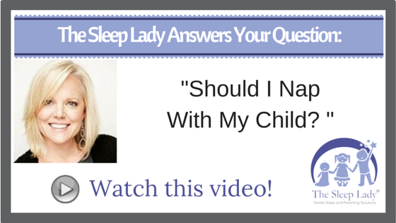 Question of the week_ Should I Nap With My Child?