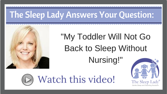 Question of the week_ My Toddler Will Not Go Back to Sleep Without Nursing!
