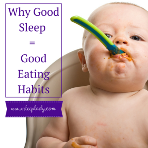 Good Eating Habits lead to good sleep habits