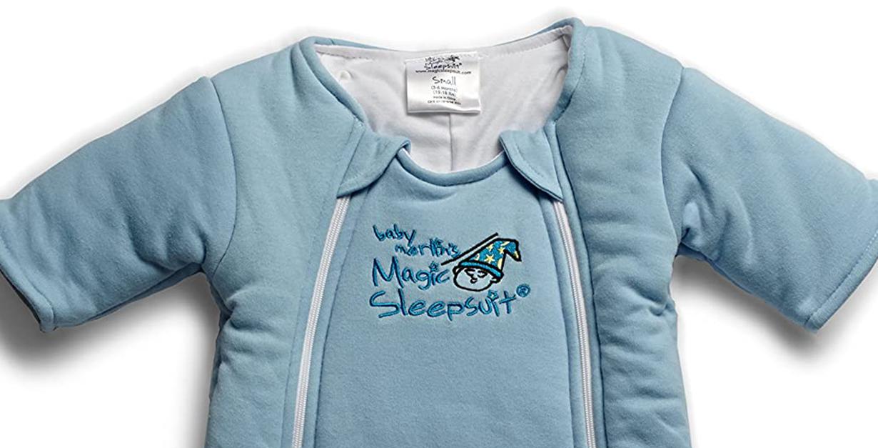 baby merlins magic sleep suit