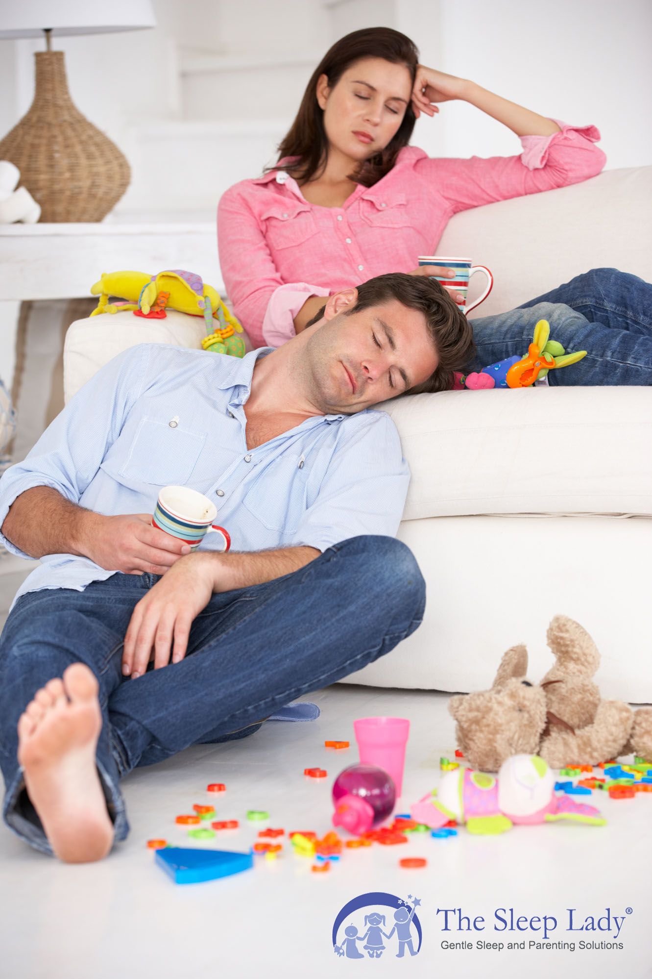 tired parents need a baby sleep coach