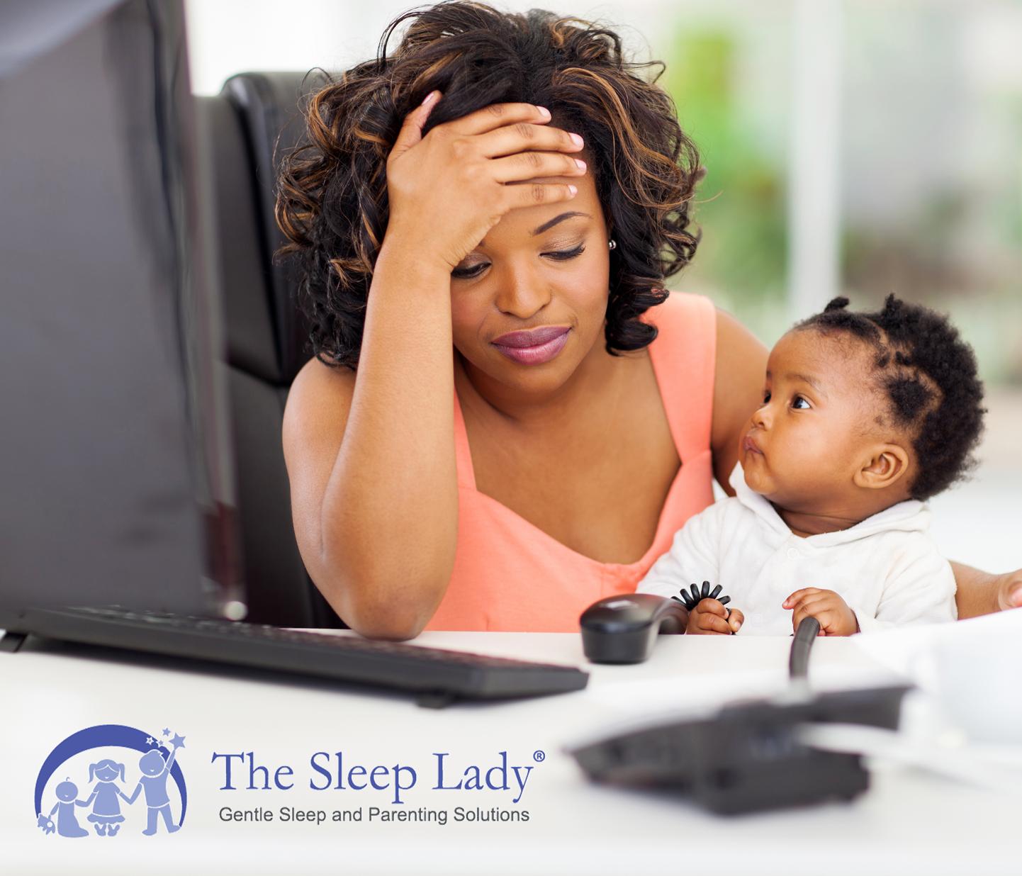 working mom sleep coaching