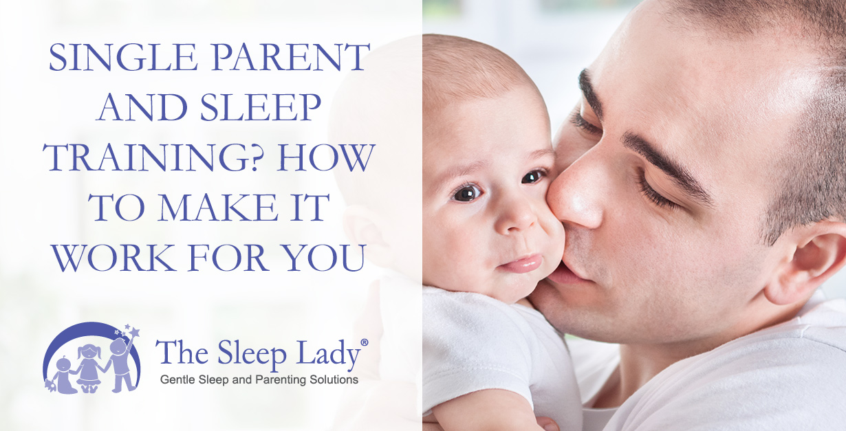 single parent and sleep training