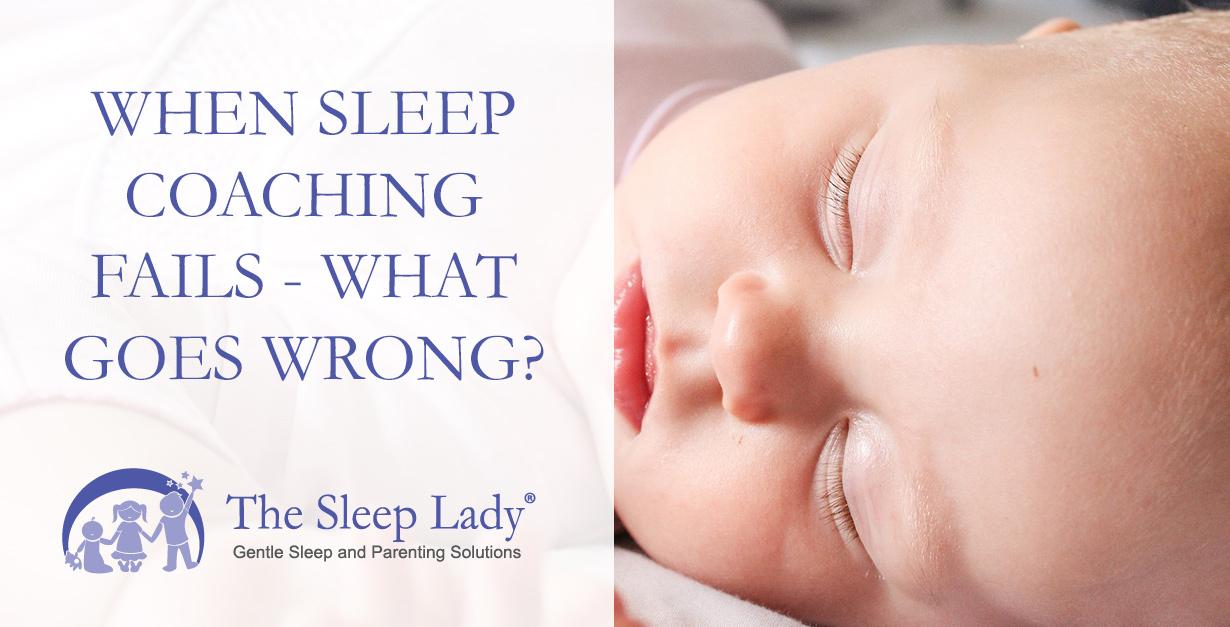 sleep coaching fails