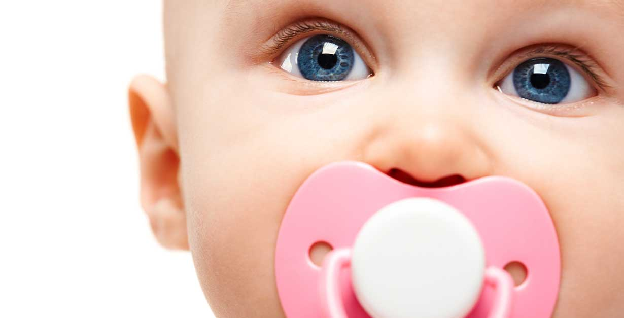 wean the pacifier